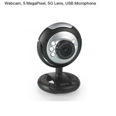 Web Cam USB Microphone & 6 LED w/ Mic Night Vision for Desktop/PC/Laptop Skype