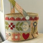 Cute basket bag