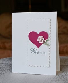 very simple card and elegant