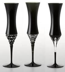 Velvet crystal goblets