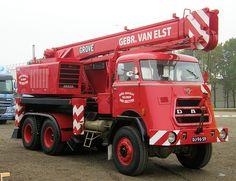 1972 DAF AZ1900 - Grove TM100C