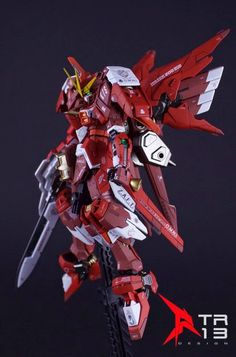 "Custom Build: RG 1/144 Justice Gundam ""Build Infinite Astray Gundam (ISSRED)"" - Gundam Kits Collection News and Reviews"