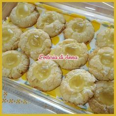 Biscotti Cookies, Cannoli, Macarons, Cookie Recipes, Muffins, Lemon, Food And Drink, Menu, Healthy Recipes