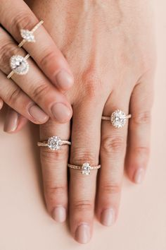 Bottom left—crossed gold & diamond band with a circular diamond Bling Wedding, Dream Wedding, Wedding Day, Wedding Rings, Stylish Jewelry, Cute Jewelry, Jewelry Accessories, Wedding Canvas, Casual Rings