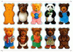 игра мемори медведи
