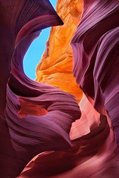 The Eternal Angel Antelope Canyon, Arizona
