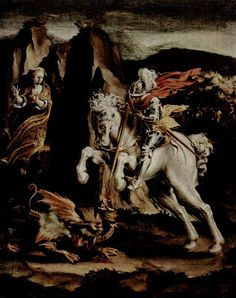 Burgundy Baron's Blog: St. George and the Dragon by Lelio Orsi