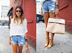 Cool summery outfit.