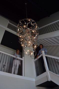 Luxe verlichting in hal | lighting fixtures | design verlichting ...