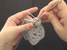 Hexagono en crochet 2 de 3 - YouTube