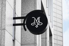 M Monogram Logo Design for luxury beauty salon. Simple, modern, and strong this . - : M Monogram Logo Design for luxury beauty salon. Simple, modern, and strong this . Luxury Logo Design, Graphisches Design, Beauty Salon Logo, Beauty Salon Design, Corporate Design, Branding Design, Corporate Branding, Logo Branding, Brand Identity