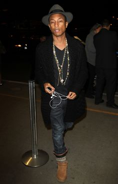 When you have a so innate sense of fashion, respect Mr  Pharrel