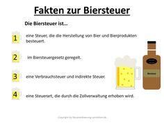 Biersteuer Definition & Erklärung | Steuerlexikon