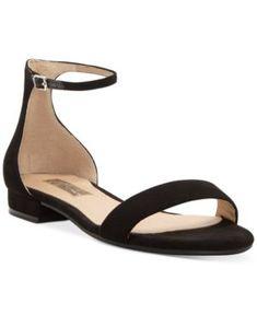 new product 14a67 ac11d INC Women s Yafaa Flat Sandals, Created for Macy s - Black 8.5M   flipflopsshoes Flip