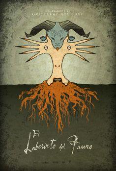 Pan's Labyrinth movie poster by Adam Rabalais