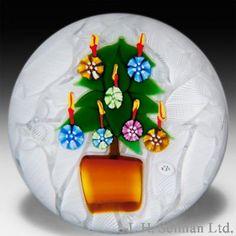 Christmas Paperweight TheGlassGallery.com