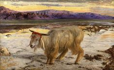 The Scapegoat William Holman Hunt 1854