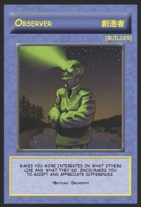 Example of Magic cards that show desired skills, etc. or Vice Versa...problematic cards