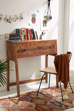 Mid-Century Fold Out Desk - Urban Outfitters