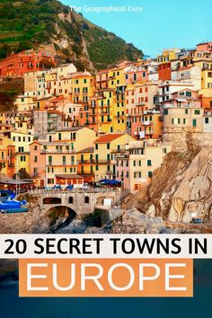 Headed to Europe? Here's my travel guide to 20 beautiful small towns and villages that are still hidden gems in Europe. These picturesque towns will steal your heart and stoke the sweetest and most…More European Travel Tips, Europe Travel Guide, European Vacation, France Travel, Travel Guides, Cool Places To Visit, Places To Travel, Places To Go, Best Places In Europe