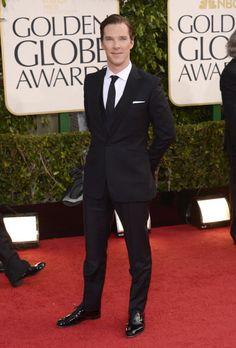 Golden Globes 2013 - Looking dapper.  why did this man not win!?