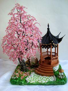цветение сакуры | biser.info - всё о бисере и бисерном творчестве