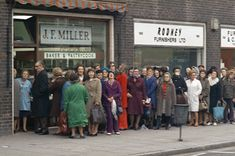 Bread queues in the 1970's, remember those...