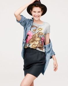 Need a bit of style inspiration for the new season? Check out J. Crew's new Style Guide for a few cool ideas.