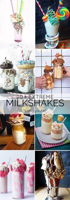 20 Extreme Milkshakes | NoBiggie.net