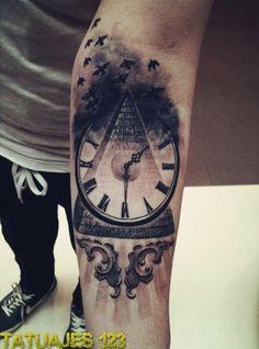 Reloj en el brazo