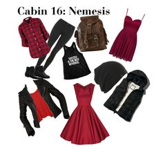 """Cabin 16: Nemesis"" by pjohpfan12345 ❤ liked on Polyvore"