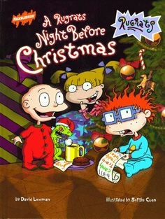 A Rugrats Night Before Christmas (Rugrats (Simon & Schuster Hardcover)) by David Lewman