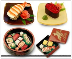 Because chocolate and sushi go well together.