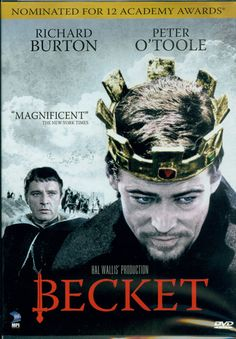 A movie about Thomas Becket. Peter O'Toole as Henry II and Richard Burton as Thomas Becket