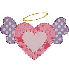 Angel Heart Applique  from Planet Applique