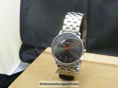 Sternglas Naos Edition Basalt - Quartz Armbanduhren - Oberösterreich Omega Watch, Watches, Accessories, Wrist Watches, Stars, Corning Glass, Wristwatches, Clocks, Jewelry Accessories