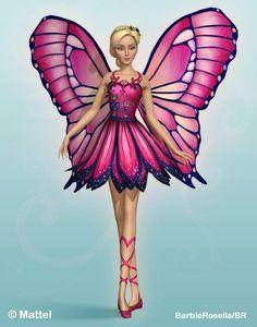 ผลการค้นหารูปภาพสำหรับ barbie mariposa Barbie Costume, Mattel Barbie, Barbie Dress, Barbie Clothes, Barbie Outfits, Barbie Birthday, Barbie Party, Barbie Life, Barbie World