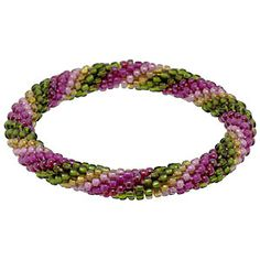 Tourmaline Dream Bracelet | Fusion Beads Inspiration Gallery  Bead Crochet to Rope