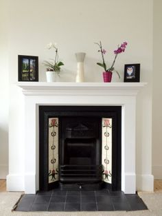 Fireplace 1930s house