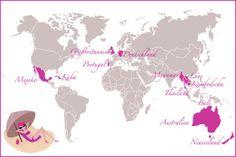 Die 12 besten Reiseziele für Single-Frauen