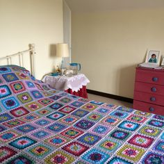 Patchwork Bedspreads, Bed Spreads, Crafty, Blanket, Crochet, Photos, Instagram, Home, Pictures