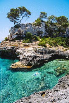 ACALU Studio Paradise cove in Mallorca, Balearic Islands, Spain