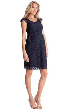 Seraphine Sloane Lace Maternity Dress | Maternity Clothes