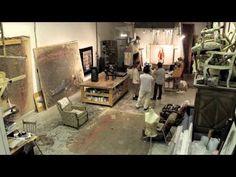 """Film """"Parcours"""" autour de Valérie Buffetaud, artiste peintre. - YouTube"""