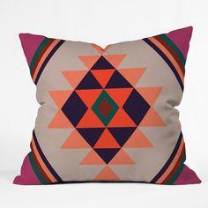 Wesley Bird Desert Sunrise Outdoor Throw Pillow | DENY Designs Home Accessories