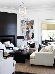 Here are some doable living room decor and interior design tips that will make your home cozy and comfortable for family and friends. My Living Room, Interior Design Living Room, Living Room Designs, Living Room Decor, Elegant Home Decor, Elegant Homes, Decor Interior Design, Interior Decorating, Decorating Ideas