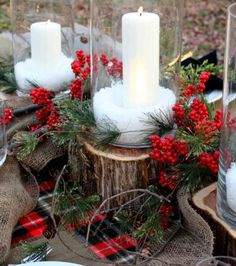 Christmas Tablesetting/Outdoor Decor