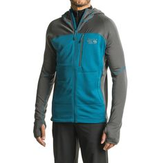 Mountain Hardwear Desna Grid Hooded Jacket (For Men)