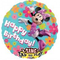 70cm Sing-A-Tune Birthday Minnie Mouse $46.95 ST23493