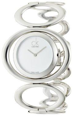 Calvin Klein Stainless Steel Round Silver Dial Women's Watch – K1P23120      Price:$217.82